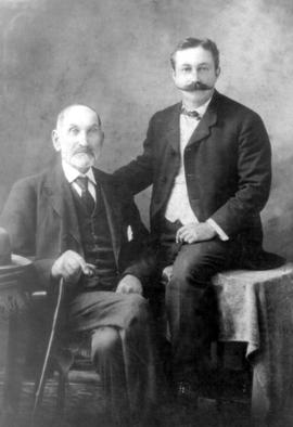 Jacob Y. Shantz and another man