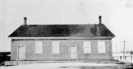 Built ca. 1857 by Mennonites in Markham area.