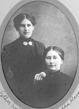 Esther Weber and Martha Reesor