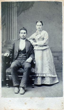 Wedding photo of David S. Shantz and Suzannah