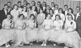 Alberta Mennonite High School (Coaldale) graduating class, 1958