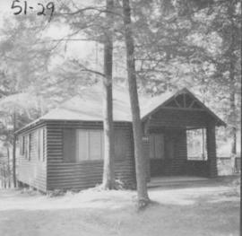 Abe Brubacher's cottage at Chesley Lake Camp in Allenford, Ontario