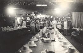 Dining hall at Montreal River camp