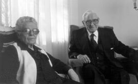 Ada and Nelson Litwiller at Greencroft, Goshen,