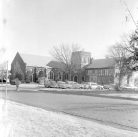 Church  buildings. Similar to Bethel College