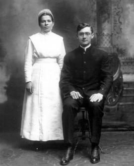 Wedding photo of Ada and Nelson Litwiller