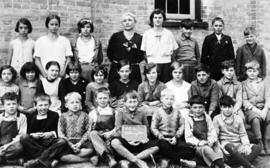 Copy of a Pilkington Township Sunday School class