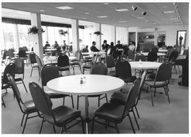 The newly renovated dining hall at Conrad Grebel