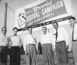 Publicity committee for the Brunk Revival campaign