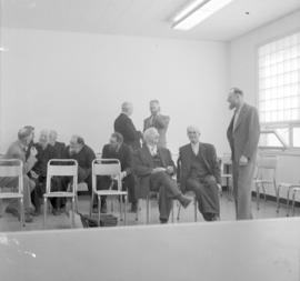 Inter-Mennonite Peace Conference in Winnipeg, Manitoba in 1957