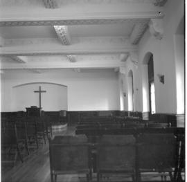 Interior view of chapel at Niagara Christian College?