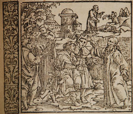 Illustration from 1560 Froschauer Bible held in