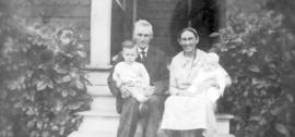 Moses and Mary Hunsberger and sons
