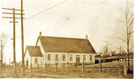 Side view of First Mennonite Church (Kitchener,