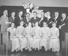 Elim Bible School graduates, 1957