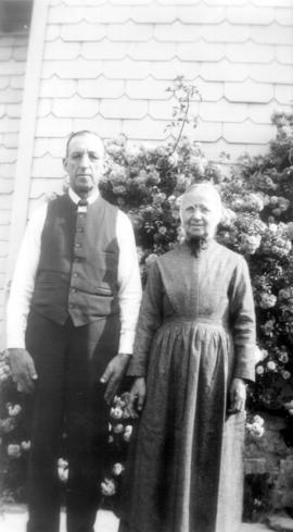 Abram M and Catherine Bowman.