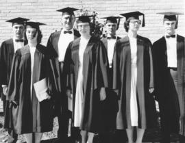 Canadian Mennonite Bible College graduates in 1960.