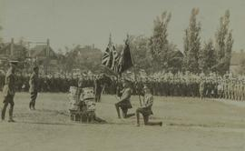 118th Battalion presentation of the colours