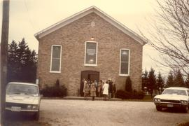 Bloomingdale Mennonite Church, 1970