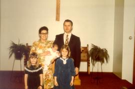 Pastor Alfred Polzin and family