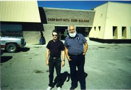 Terry Widrick and Martin Cross, Blood Indian Reserve
