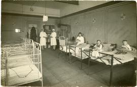 Children's unit in the hospital