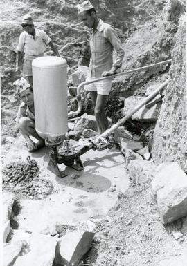 Installing a pump in Nepal