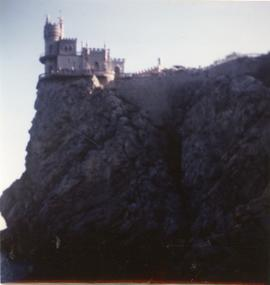 A picture of a castle in the Crimea, 1982