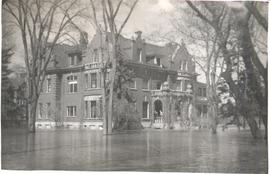 CMBC Wellington campus in the 1950 Winnipeg flood