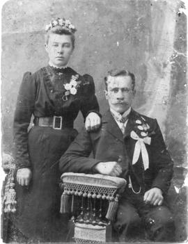 Jakob Giesbrecht and his wife