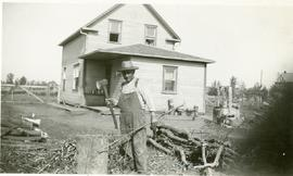 Isaak Dyck (Mary's father) in Winkler