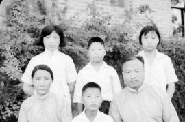 Rev. Chang Ching and family
