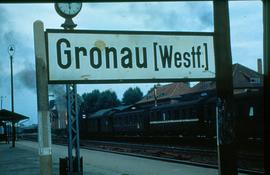 Gronau West Germany sign