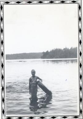 Heidi in the lake 1950