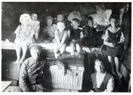Interior of Immigration Train 1923