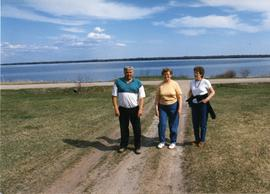 Edgar, Norma, Hilda at Matheson Island