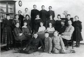 Teachers and some students of the Ohrloffer Central School