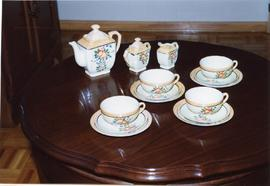 Edith's tea set