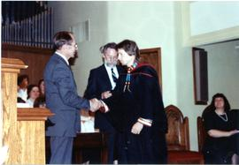 Terry Widrick graduation from CMBC
