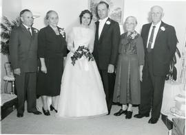Alfred and Edith with their parents