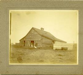 Barn and 4 men