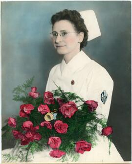 Anne Penner Hand Tinted graduation photo