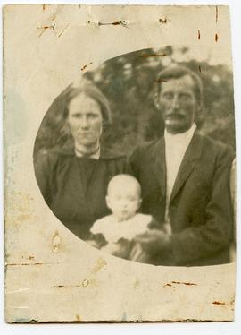 David P. and Olga (Harder Albrecht & son passport photo