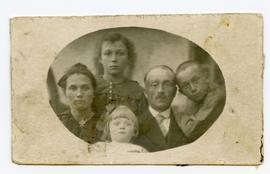 Family Portrait of Peter and Maria Dyck