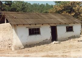An old building near Creel, Mexico
