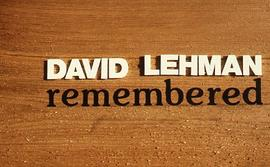 """David Lehman remembered"""