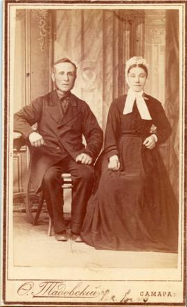 Christian and Catherina Wiebe