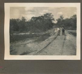 "Edited ""Road from Km 145 to the colony, embankment with a bridge near to Pozo Azul."""
