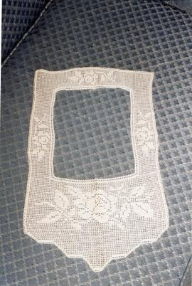 A collar crocheted by Mary's sister-in-law Frieda Dyck(1900-1954)