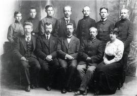 Halbstadt (Molotschna) students and staff of last class